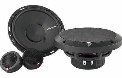 "Rockford Fosgate P165-SI 6.5"" 2-Way Euro-Fit Component System"