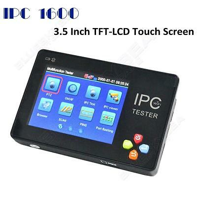 IP Digital & Analog CCTV Camera Tester Monitor Touchscreen WiFi PTZ 12V Output