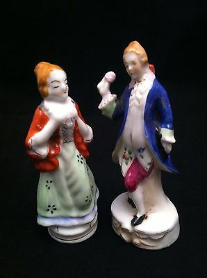 Set of Vintage Lady&Man Figurines  Made In Occupied Japan #F926