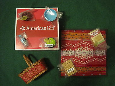 American Girl Saige's Picnic Set-Brand New In A Box