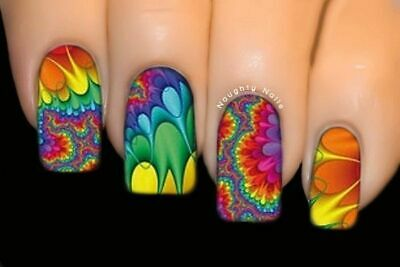 Hypnotic  - FULL COVER SERIES Nail Art Water Tattoo Transfer Decal Sticker