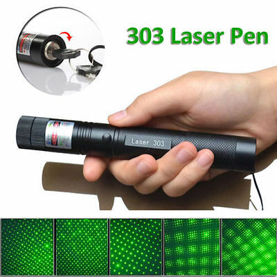Powerful 1mW Green Beam Laser Pointer Pen | 532nm Professional LED Lazer Cat Toy