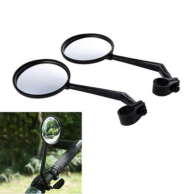 2Pcs Flexible Safe Rear View Rearview Mirror for Cycling Bike Bicycle Handlebar
