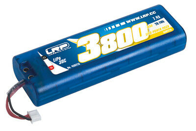 LRP LiPo Power Pack 3800 - 7.4V - 30C - Multi Plug Hardcase