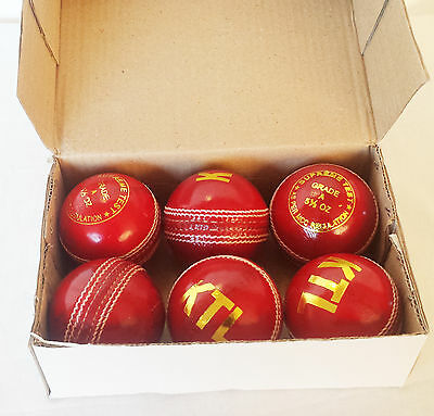 Match Quality Cricket Ball Grade A Ball Senior 5.5oz hand stitched leather