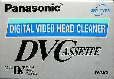 Panasonic MiniDV Head Cleaner Cassette Tape For All MiniDV/DVC Camcorders - NEW