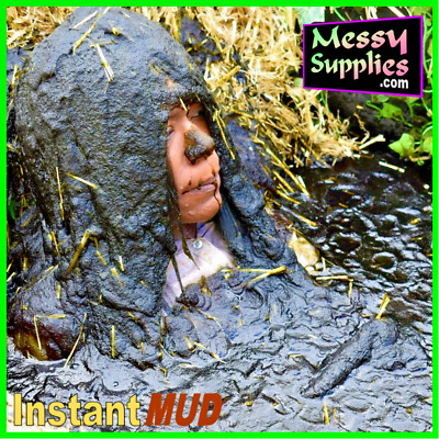 Instant MUD ~ Very Easy to Mix in 30 Seconds ~ Gunge / Slime FX ~ 10-12 Litres