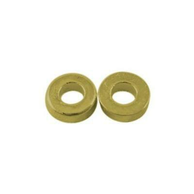 Packet 30 x Antique Bronze Tibetan 6mm Donut Spacer Beads HA15445