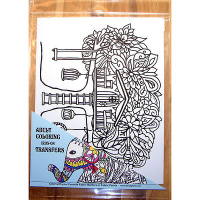 """Treehouse Coloring Transfer 9""""x12"""" 28106"""