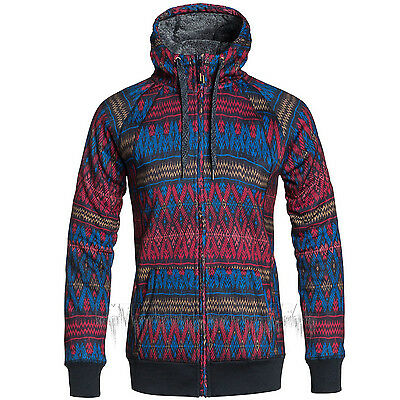 ROXY Womens 2016 Snow Dixie Anthracite (KVJ3) RESIN BONDED SHERPA ZIP-UP HOODIE