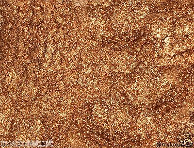 Bronze Mica Pigment Powder 2g sparkle Soap glitter top Bath fizz body cosmetics