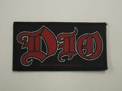 Dio Logo Woven Patch