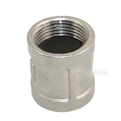 "1"" Female x 1"" Female Couple Stainless Steel 304 Threaded Pipe Fitting NPT"