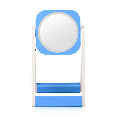 LED Luz Ajustable Espejo de Maquillaje de Pie Cosmético Make-up Mirror Tocador