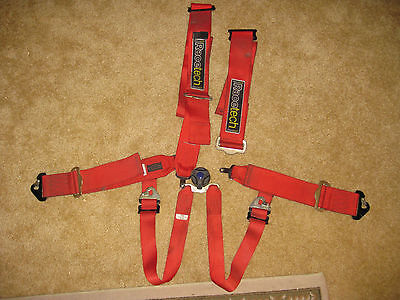 One Red RaceTech 6 Point FIA Racing Harness Seat Belt  (USED) (for 1 seat)