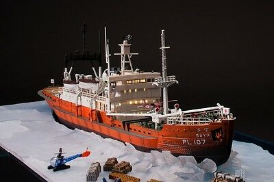 Bandai Adult superalloy Antarctic research ship Soya New F/S from Japan (1000)