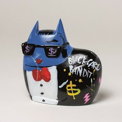 "SELWYN SENATORI - Senatori Town Collection Skulptur ""Big City Cat Blue - Sammy"""