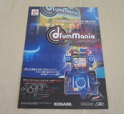 Arcade Gaming 1999 Konami Dancing Stage Video Flyer Mint Attractive Appearance Arcade, Jukeboxes & Pinball