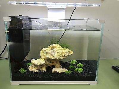 Brand New Aquarium Nano Fish Tank with LED Light, Filtration System
