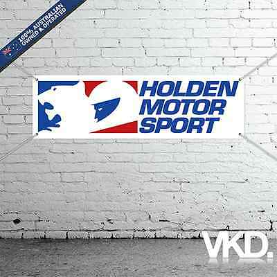 Holden Motor Sport Banner - Man Cave Work Shop Garage Shed VN VP VR VS HSV V8