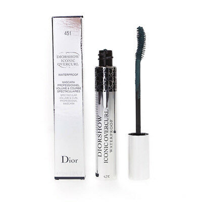 Dior Diorshow Iconic Overcurl Waterproof Blue Mascara 451 Bleached Turquoise