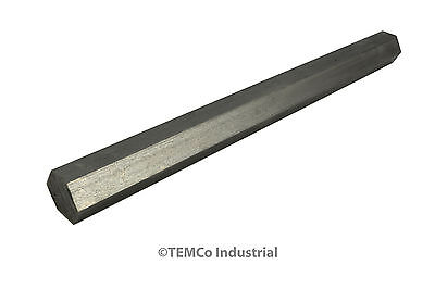 """3/4"""" Inch 9"""" Long 304 Stainless Steel Hex Bar Lathe SS Rod Stock .75"""""""
