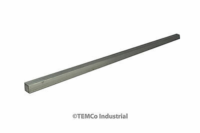 "3/8"" Inch 12"" Long 6061 Aluminum Square Bar Mill Rod Stock .375"""