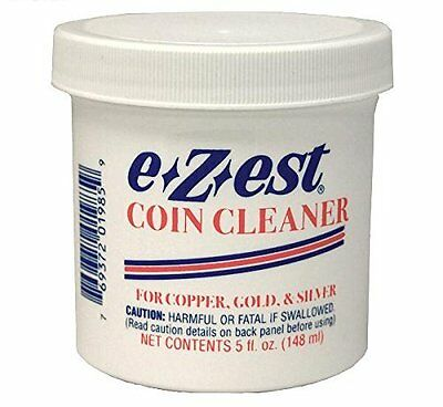 E-Z-Est Jeweluster Coin Gold Bullion Jewelry Cleaner 5 Ounce Free USA Shipping