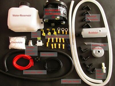 DC1500 Dry Cell HHO Kit for cars & motorbikes. Engines 600-1500cc. CE certified