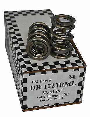 "PSI DR1223RML OHC Drag Race Dual Vavle Springs 1.215"" .700"" Max Lift Set of 8"