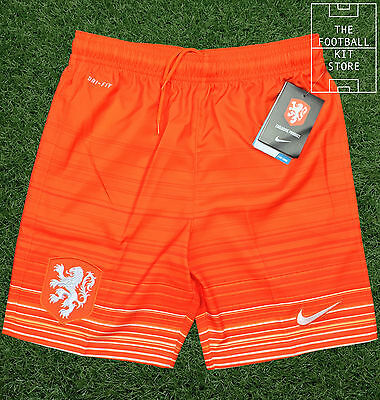 Holland Home Shorts - Genuine Nike Netherlands - Dutch Football - Boys All Sizes
