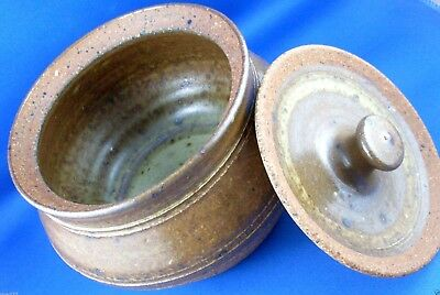 RARE Vintage CARL McCONNELL (1926-2003) PINJARRA Pottery Canister ExC - In Aust