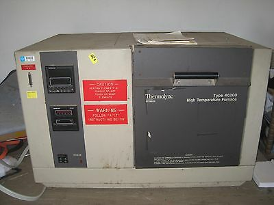 A Used Barnstead/Thermolyne Muffle Furnace (Model:F46240CM-75, up to 1700 °C)