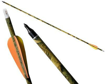 10/20/30 IRQ Archery Carbon Arrows SP 400 Compound Recurve Bow Hunting Bolt Tips