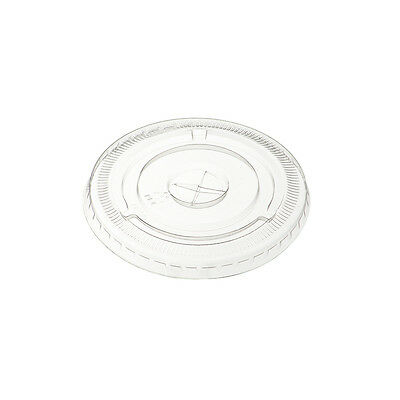 12-20oz Flat Smoothie/Milkshake Cup Lids with Hole (800)