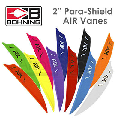 "**NEW**  Bohning AIR Vanes Shield Fletchings 2"" (PACK OF 12)"