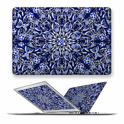 China Blue Hard Front Case Cover For Apple Mac Macbook Air Pro 11 12 13 15