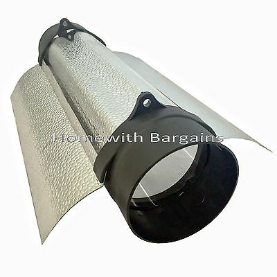 "5"" (125mm) CoolTube Shade Grow Room Cool Wing Reflector Air Cooled Hydroponics"