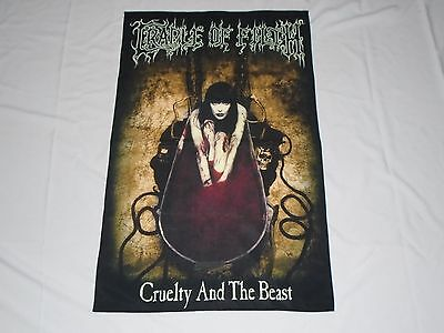 Cradle Of Filth Cruelty And The Beast Textile Flag