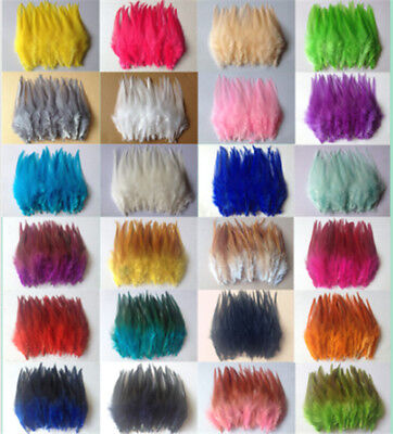Beautiful 30pcs rooster tail little feathers 2-4inches / 4-10cm Diy decorative