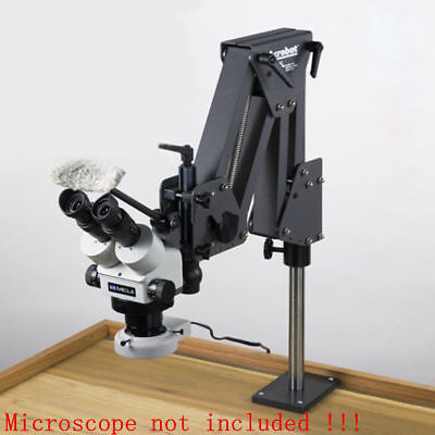 Multi-directional microscope stand jewelry inlaid stand for micro-setting