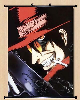 Japanese Anime Home Decor  Wall poster Scroll Hellsing Alucard 60*90cm G92