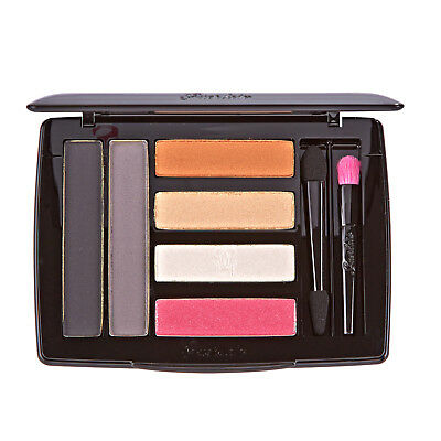 Guerlain Crazy Paris Neon Look Eyeshadow & Liner Makeup Palette Black Grey Pink