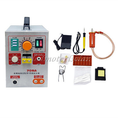 2 in 1 1.9KW LED Pulse Battery Spot Welder Welding Machine 709A 60A+Pulse Pedal