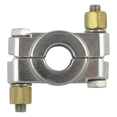 """High Pressure Bolted Sanitary Clamp, 304 Stainless Steel - 1/2"""" & 3/4"""""""
