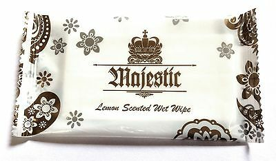 MAJEST Fresh Wet Hand Wipes Towels Hot Cold Individually Wrapped Restaurant Home