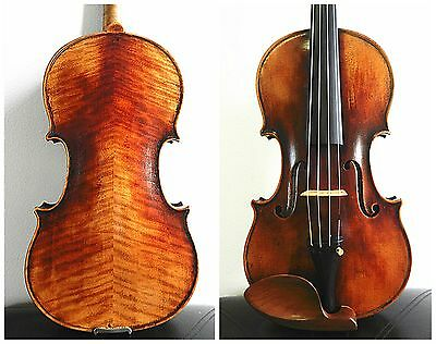 An Old Italian Soloist 4/4 Size Violin by Andeas Lucarini 1927, Professional !