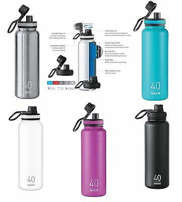 Takeya Thermoflask Double Wall Vacuum Insulated Stainless Bottle 40 oz