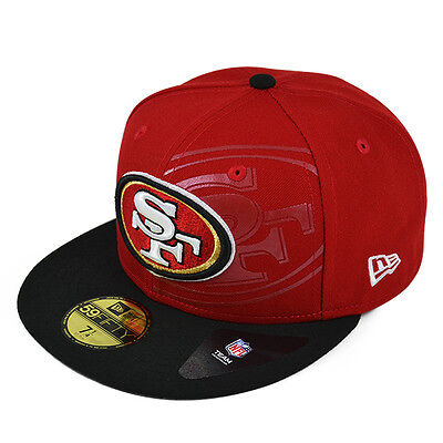 ca2764674 San Francisco 49ers NEW 2016 TREASURE Fitted 59Fifty New Era NFL Hat