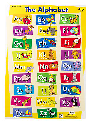 Educational Poster The Alphabet / My First Sight Words Double-sided Wall Chart